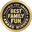 2016 Tillywig Toy Award for the Best Family Fun