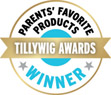 2018 Parents' Favorite Products Award from the Twillywig Award