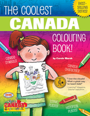 The Coolest Canada Colouring Book