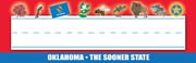 Oklahoma Nameplates - Pack of 36