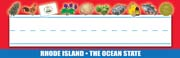 Rhode Island Nameplates - Pack of 36