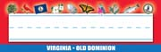 Virginia Nameplates - Pack of 36