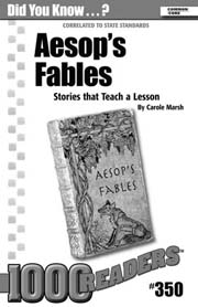 Aesop's Fables Consumable Pack 30