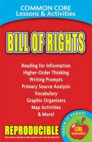 Bill of Rights – Common Core Lessons & Activities