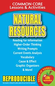 Natural Resources – Common Core Lessons & Activities
