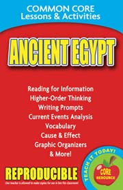 Ancient Egypt – Common Core Lessons & Activities