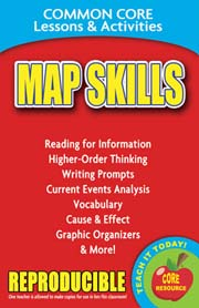 Map Skills – Common Core Lessons & Activities