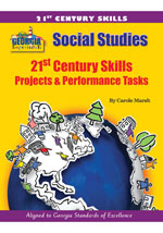 Georgia Experience 21st Century Skills - Projects & Performance Tasks, 1-year Online Access