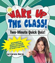 Two Minute Quick Quiz! – Common Core Question Pack