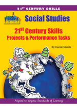 Virginia Experience 21st Century Skills – Projects & Performance Tasks, 1-year Online Access