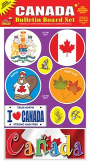 Canada Bulletin Board Set