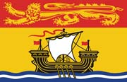 Canada Flag Poster-New Brunswick