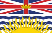 Canada Flag Poster-British Columbia