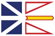 Canada Flag Poster- Newfoundland and Labrador