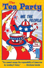 Tea Party Poster for Kids