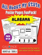 All About My State-Alabama FunPack (Pack of 30)