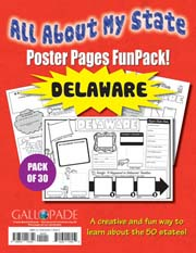 All About My State-Delaware FunPack (Pack of 30)