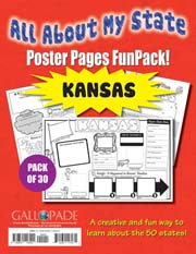All About My State-Kansas FunPack (Pack of 30)