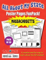 All About My State-Massachusetts FunPack (Pack of 30)