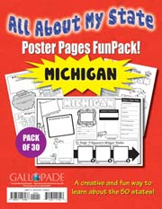 All About My State-Michigan FunPack (Pack of 30)
