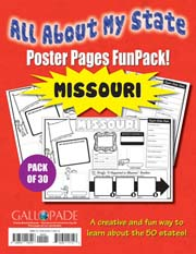 All About My State-Missouri FunPack (Pack of 30)