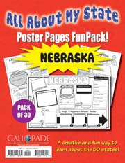 All About My State-Nebraska FunPack (Pack of 30)