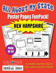 All About My State-New Hampshire FunPack (Pack of 30)