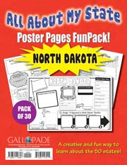 All About My State-North Dakota FunPack (Pack of 30)