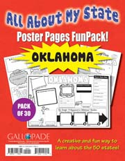 All About My State-Oklahoma FunPack (Pack of 30)