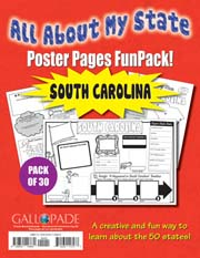 All About My State-South Carolina FunPack (Pack of 30)