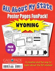 All About My State-Wyoming FunPack (Pack of 30)