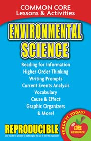 Environmental Science - Common Core Lessons & Activities