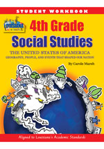 Louisiana 4th Grade Student Workbook