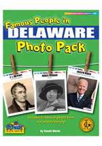 Famous People from Delaware Photo Pack