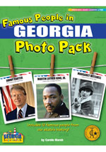 Famous People from Georgia Photo Pack