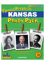 Famous People from Kansas Photo Pack