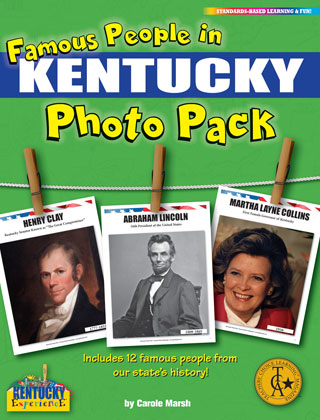 Famous People from Kentucky Photo Pack
