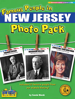 Famous People from New Jersey Photo Pack