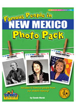 Famous People from New Mexico Photo Pack