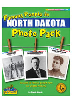 Famous People from North Dakota Photo Pack