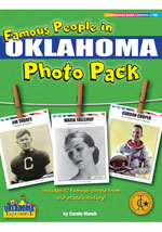 Famous People from Oklahoma Photo Pack