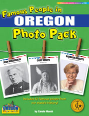 Famous People from Oregon Photo Pack