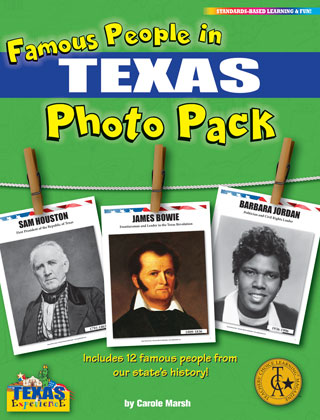 Famous People from Texas Photo Pack