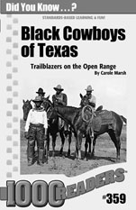 Black Cowboys of Texas: Trailblazers on the Open Range Consumable Pack 30