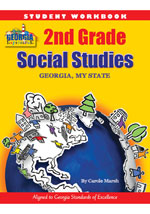 Georgia Experience 2nd Grade Student Workbook: Georgia My State-GSE Aligned for 2017-18 School Year