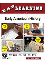 Early American History Zap-Pack