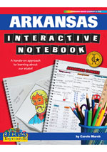 Arkansas Interactive Notebook: A Hands-On Approach to Learning About Our State!