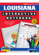 Louisiana Interactive Notebook: A Hands-On Approach to Learning About Our State!
