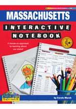 Massachusetts Interactive Notebook: A Hands-On Approach to Learning About Our State!