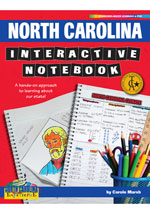 North Carolina Interactive Notebook: A Hands-On Approach to Learning About Our State!